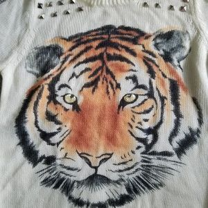 Timing Tiger face sweater